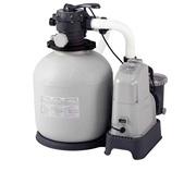 Песочный насос с хлоргенератором Intex 28676,  мощностью 6 000 лч хлор